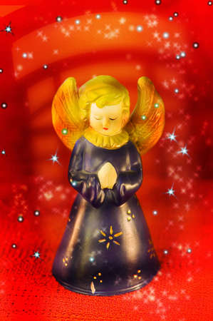 Christmas angel ornament Stock Photo - 3193621