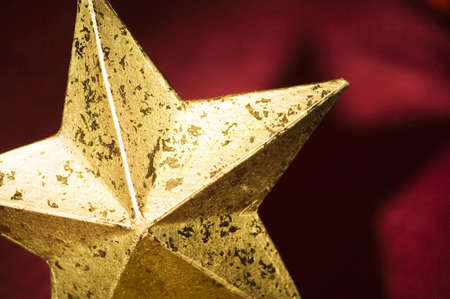 happy christmas: Close up of Christmas star LANG_EVOIMAGES