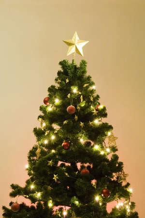 lighting: Christmas tree