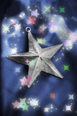 Christmas star ornament Stock Photo - 3193646