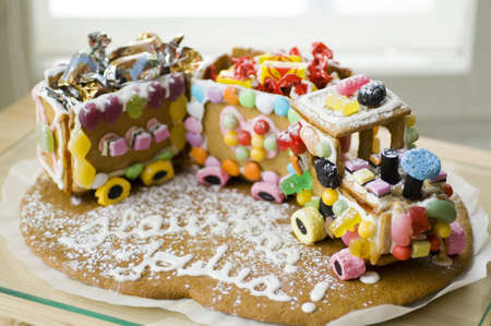 gingerbread: Gingerbread train