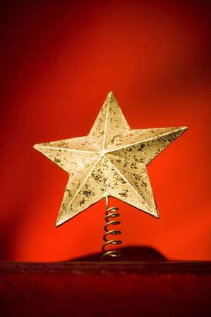 decoration: Christmas star