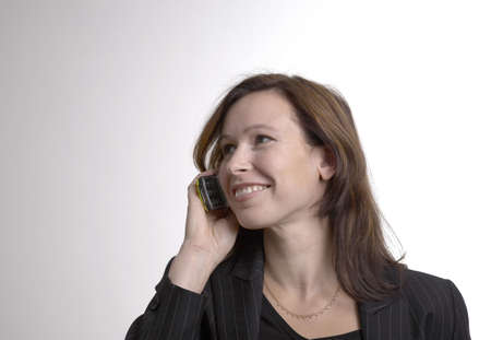 Businesswoman talking on the mobile phone Stock Photo - 3193719