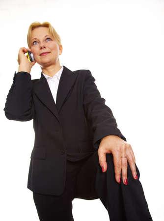 Businesswoman using mobile phone Stock Photo - 3193755