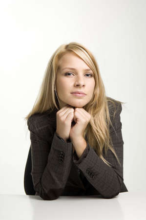 Businesswoman looking at camera Stock Photo - 3193772