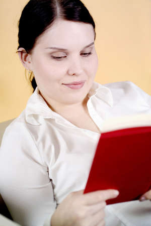 Woman reading book Stock Photo - 3193855