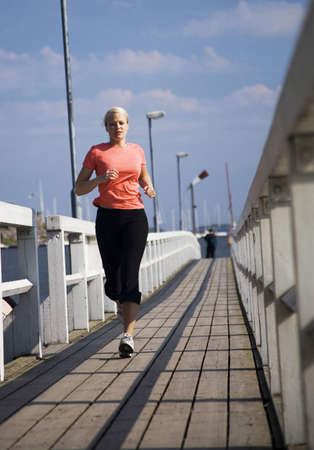 Woman jogging Stock Photo - 3194021