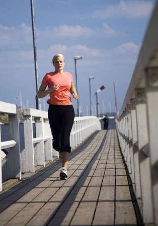 Woman jogging Stock Photo - 3194021