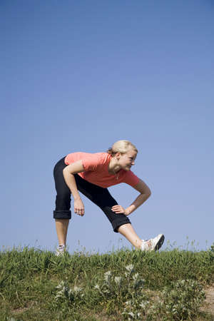 Woman exercising Stock Photo - 3194033