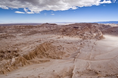 Views of Moon Valley, Atacama Desert, Chile