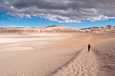 Views of Moon Valley, Atacama Desert, Chile Stock Photo - 11975277