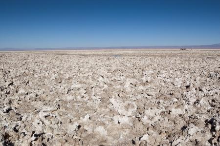 Views of Salar de Atacama, the largest salt flat in Chile Фото со стока