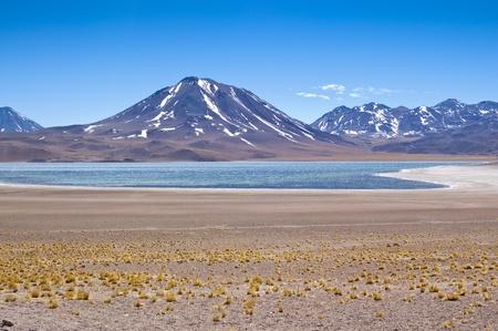 Views of Miscanti Lagoon, Chile
