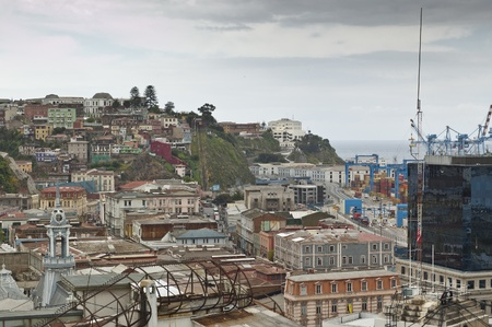 Views of Valparaiso, Chile