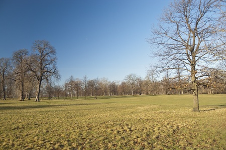hyde: Hyde Park, London. Hyde Park is one of the largest parks in central London