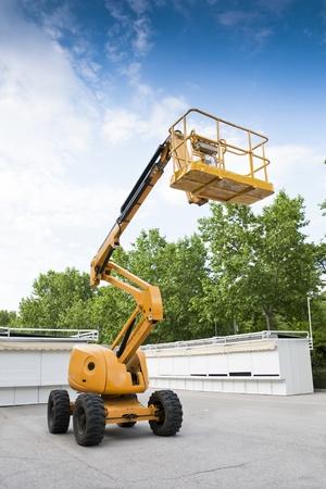 Aerial Boom Lift Фото со стока