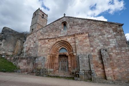 millan: San Millan de Lara Church, Burgos Province, Spain  It was building on 1165 in Romanesque style