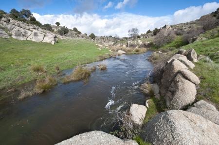 Terraza Fluvial En Asia Central En El Altai El Resultado De