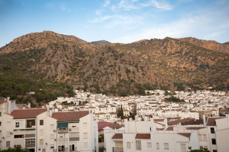 Views of Ubrique, Cadiz  This village is part of the pueblos blancos  white towns  in southern Spain Andalusia region, and reminds the Arab past