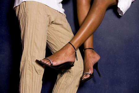 seducing: Uomo donna seducente