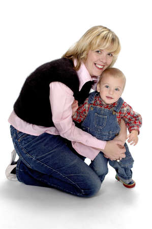 Mother and son. Stock Photo - 3192036