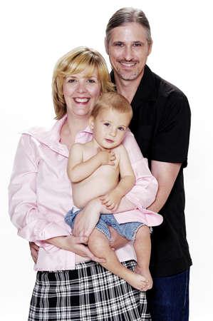 Family portrait. Stock Photo - 3192040