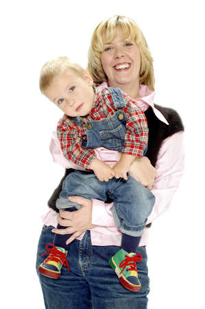 Mother and son. Stock Photo - 3192042
