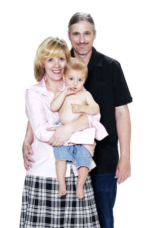 Family portrait. Stock Photo - 3192046
