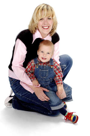Mother and son. Stock Photo - 3192056