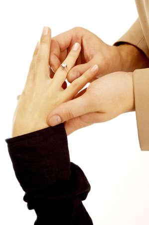 betrothal: Engagement.
