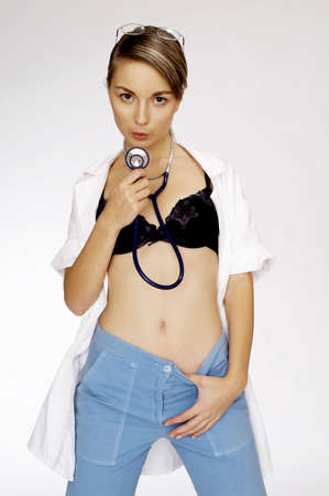 Sexy female doctor. Stock Photo - 3192219