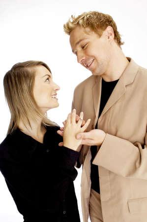 Loving couple. Stock Photo - 3192246
