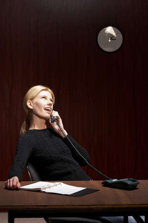 Businesswoman talking on the phone. Stock Photo - 3192367