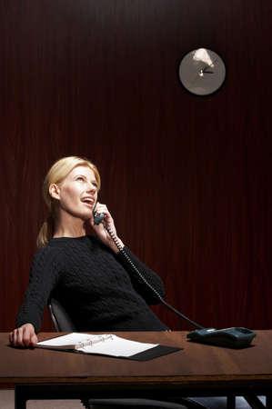 Businesswoman talking on the phone. Stock Photo - 3192367