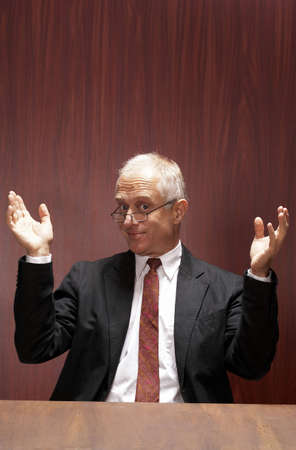 Senior businessman. Stock Photo - 3192375