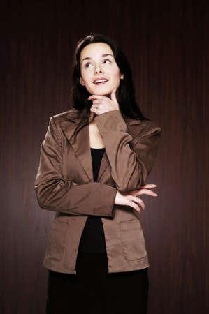 Businesswoman thinking. Stock Photo - 3192378