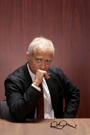 Businessman thinking. Stock Photo - 3192414