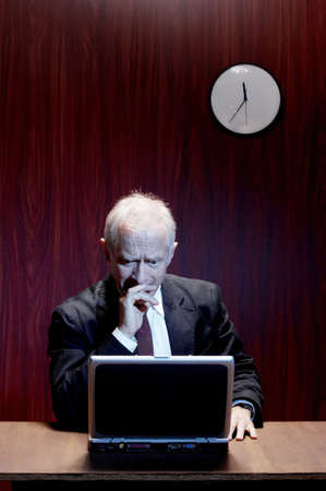 Businessman thinking. Stock Photo - 3192438