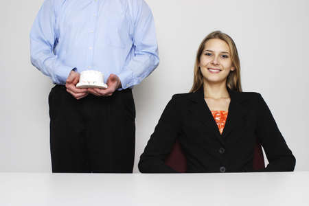 Businesswoman and her assistant. Stock Photo - 3192568