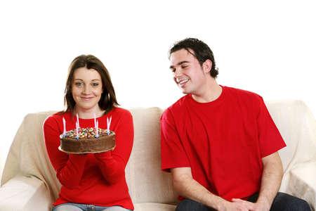 Birthday celebration. Stock Photo - 3192647