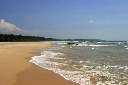 Beautiful sandy beach. Stock Photo - 3190831