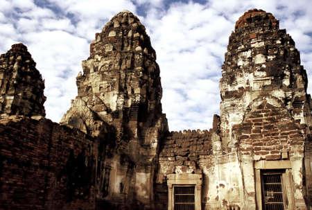 Ruins of Ayutthaya, Thailand. Stock Photo - 3190870