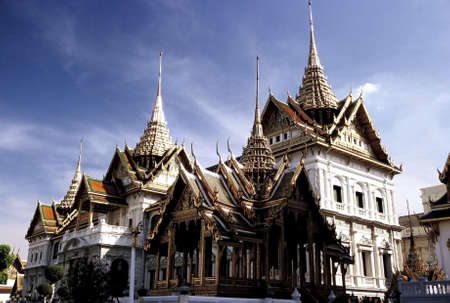Royal Palace (Wat Phra Kaew), Bangkok, Thailand. Stock Photo - 3190873