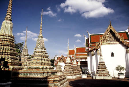 Wat Po, Thailand. Stock Photo - 3190876