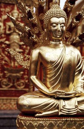 artwork: Golden Buddha.
