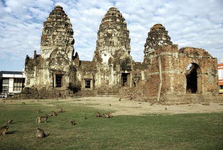 Ruins of Ayutthaya, Thailand. Stock Photo - 3190889
