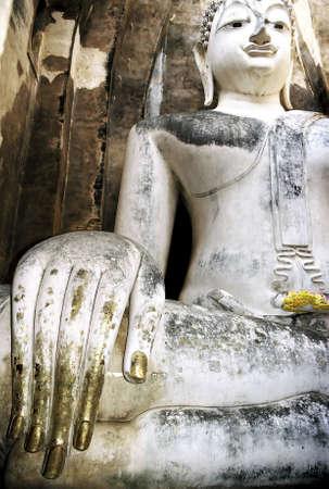 Sitting Buddha statue, Thailand. Stock Photo - 3190892
