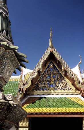 Royal Palace (Wat Phra Kaew), Bangkok, Thailand. Stock Photo - 3190899