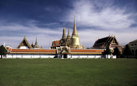 artwork: Royal Palace (Wat Phra Kaew), Bangkok, Thailand.