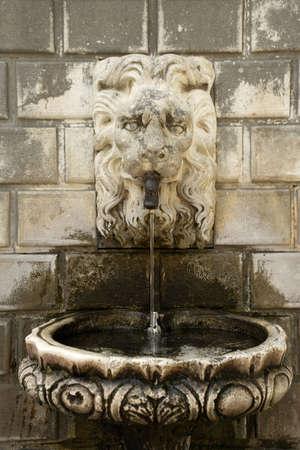 Fountain tap in Dubrovnik. Stock Photo - 3190942